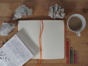 desk-of-creative-professional